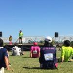 大阪30kマラソンではレース後のステージイベントが意外に役立ちますよ!
