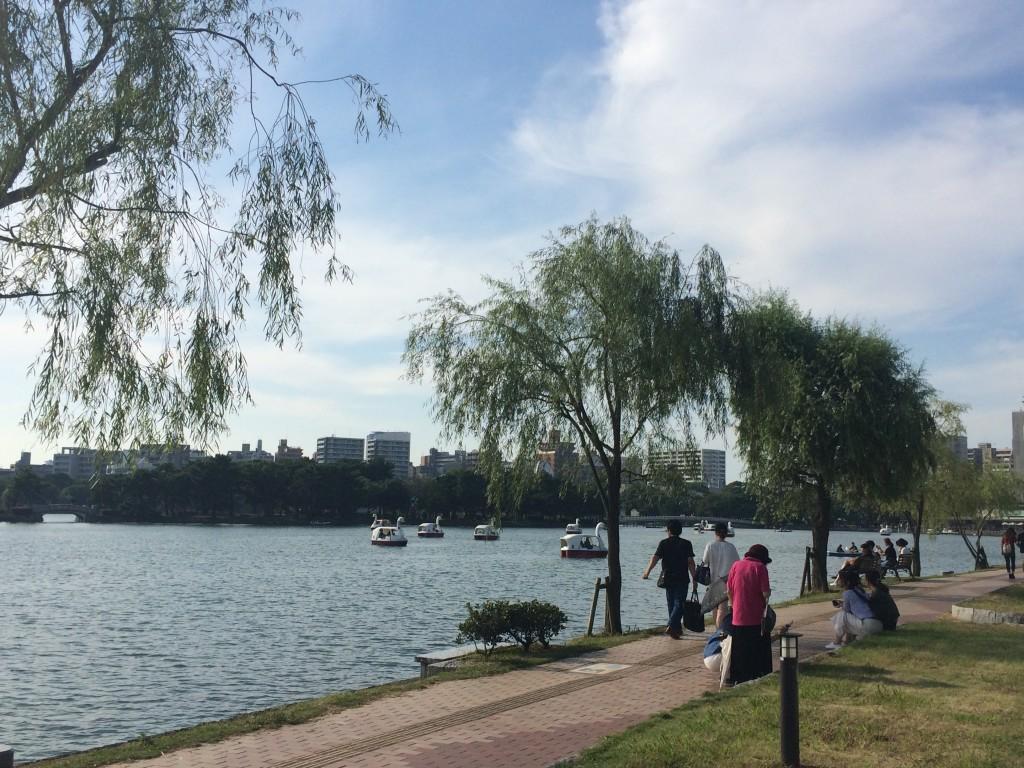 大濠公園 池 長居公園