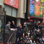 ジョディーフォスターのハリウッド殿堂入りの式典を観てきたよ
