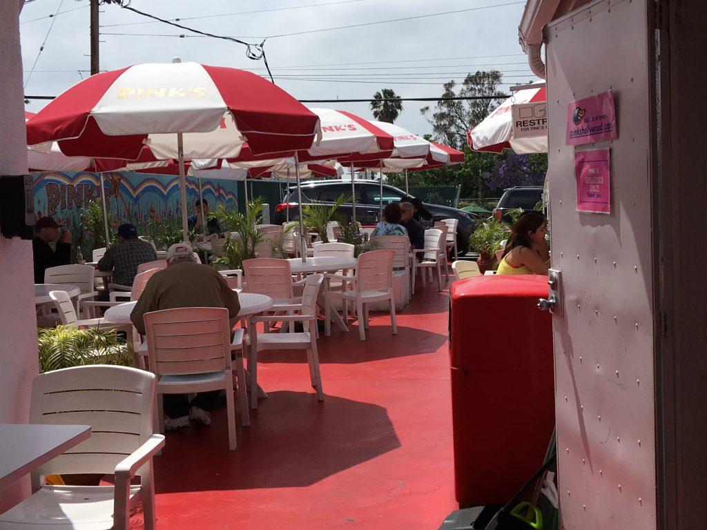 Pinks ホットドック ロサンゼルス