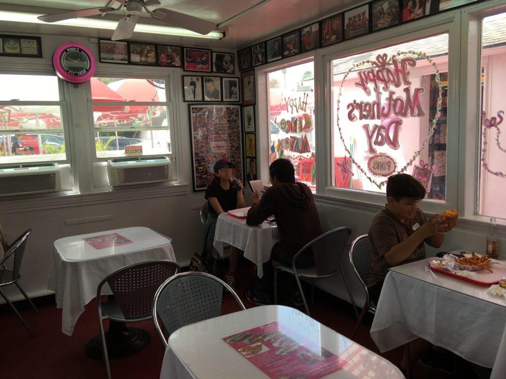 ホットドック ロサンゼルス Pinks