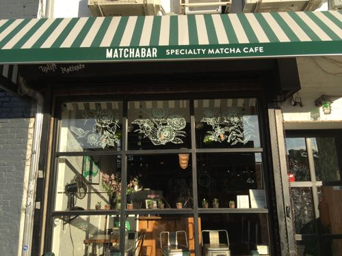 matcha bar,抹茶,マッチャバー