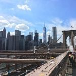 ニューヨーク観光ならブルックリンブリッジ(the brooklyn bridge)がおすすめ!夏に渡るときは水分補給を忘れずに