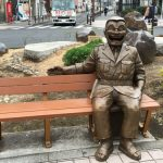 亀有の観光スポットならこち亀の銅像巡りがおすすめ!漫画の世界に入ったような気分になれるよ!