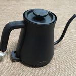 バルミューダの電気ケトル(BALMUDA the Pod)を購入!さっそくコーヒーをいれてみたよ!