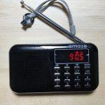 携帯(ポケット)ラジオのおすすめ製品「アメイズ」をご紹介。ラジオで癒しの時間を過ごそう!