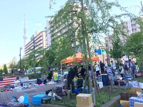 フリマ,出店,錦糸町,メルカリ