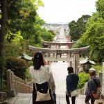 嵐のCMで話題の宮地嶽神社の光の道をみてきました!| 福岡県