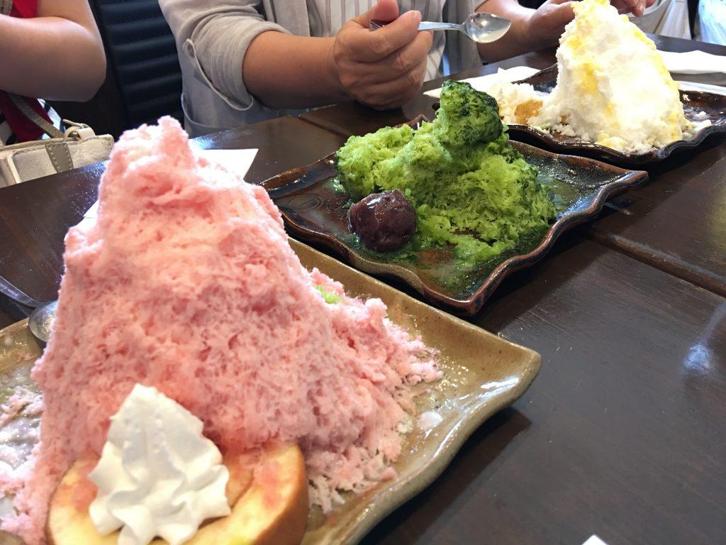 雪の晶,福岡,かき氷,博多,中洲
