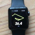 アップルウォッチ3をつけて30km走ったら途中でバッテリー切れに!フルマラソンでは使えないのか?