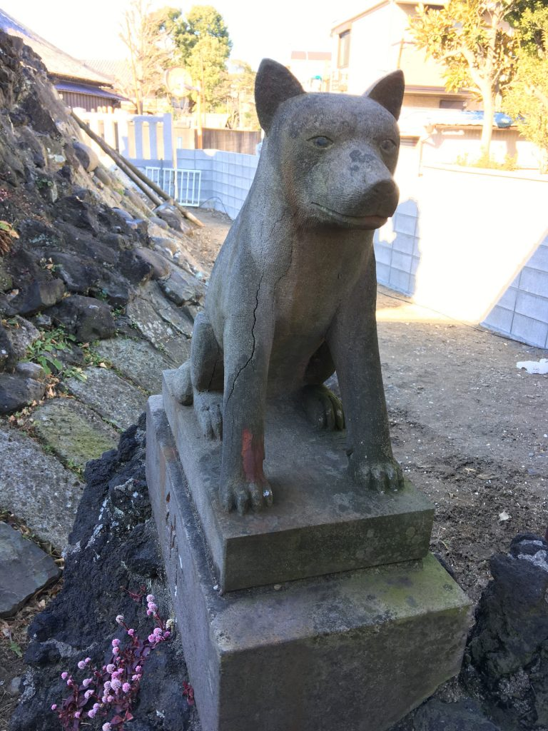 豊受神社,浦安,千葉,狛犬,三峰神社